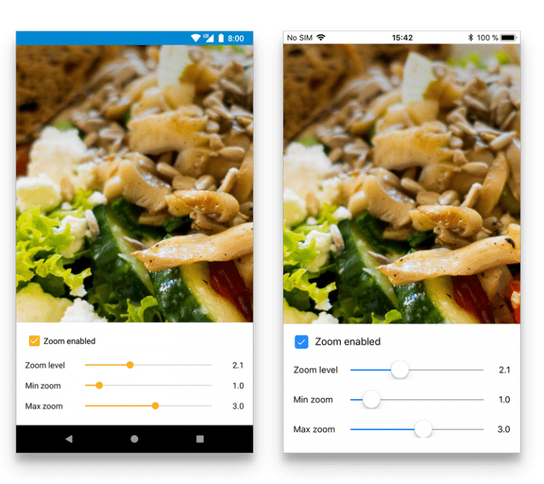 Add printing support for your mobile application with pinch-to-zoom