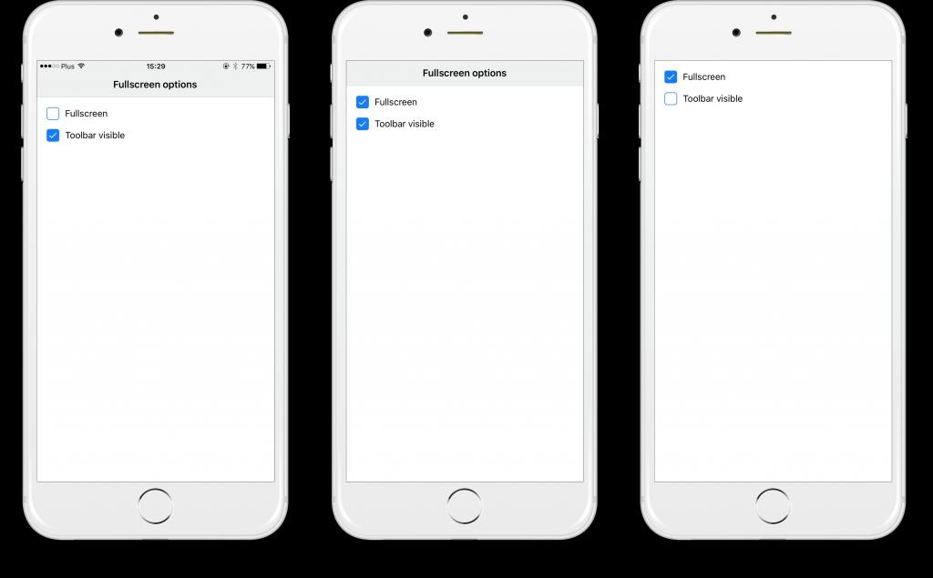 Cordova 6 update, a new widget ActivityIndicator, real